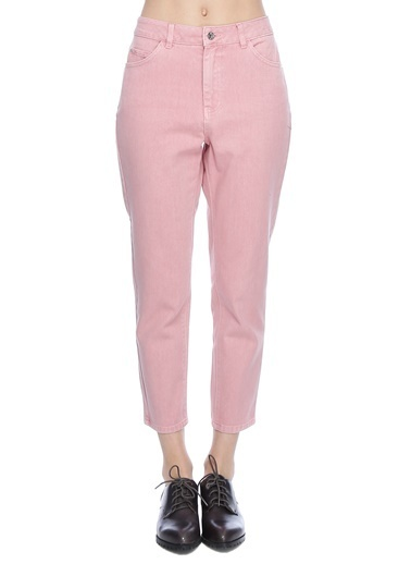 Vero Moda Jean Pantolon Pembe